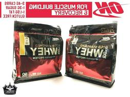 Optimum Nutrition 100% Gold Standard Whey Protein 6 lbs 90 S
