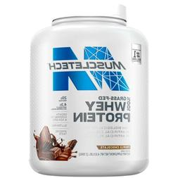 MuscleTech 100% Grass Fed Whey Protein, Chocolate