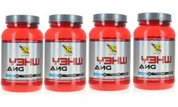 4 Pack BSN WHEY DNA 24G PROTEIN LEAN MUSCLE MASS 100 SERVING