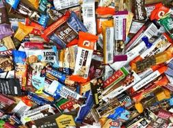 100 Assorted MIX  NUTRITION ENERGY & PROTEIN BAR Quest Luna