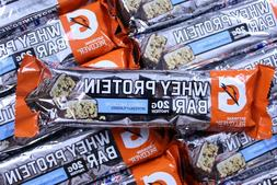 60 Gatorade Whey Protein Bars Cookies N Creme Muscle Recover