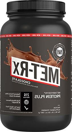 Met-Rx - Protein Plus Milk Chocolate, 2 lb powder