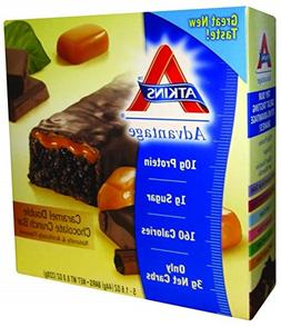Atkins Advantage Bar Caramel Double Chocolate Crunch - 5 Bar