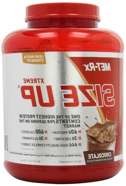 MET-Rx Size Up Gainer Chocolate, 6 pound