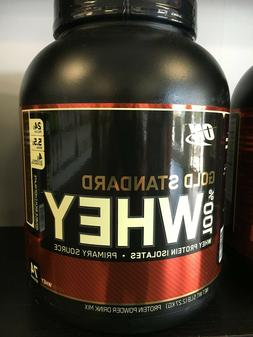 Optimum Nutrition Gold Standard 100% WHEY - 5LBS - PICK FLAV