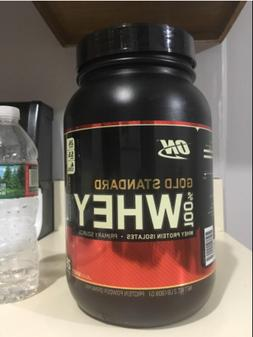 Optimum Nutrition Gold Standard 100% Whey Protein 2 lbs Choc