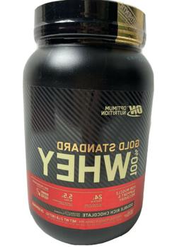 Gold Standard Whey 100% Protein 2 lb Optimum Nutrition Doubl