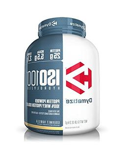 Dymatize ISO 100 Post Workout and Recovery Supplements, Gour