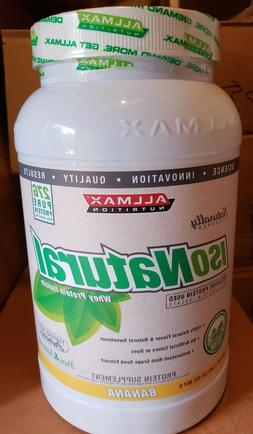 iso natural whey protein isolate 2 lbs