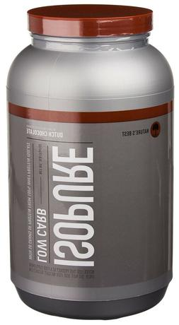 Isopure Low Carb Protein Powder 100% Whey Dutch Chocolate 3