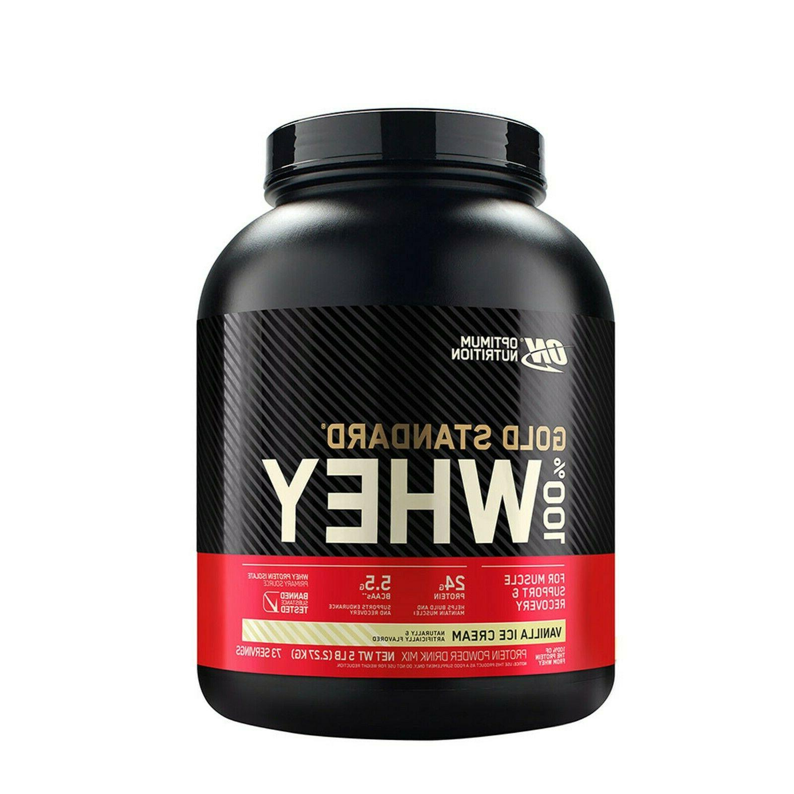 100 percent whey gold standard protein 5lb