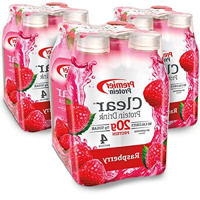 12 Pack Clear Protein Drink Tropical Punch Flavor 20g Whey P