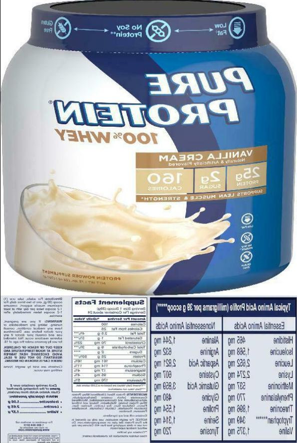 2 pack whey protein powder 100 percent