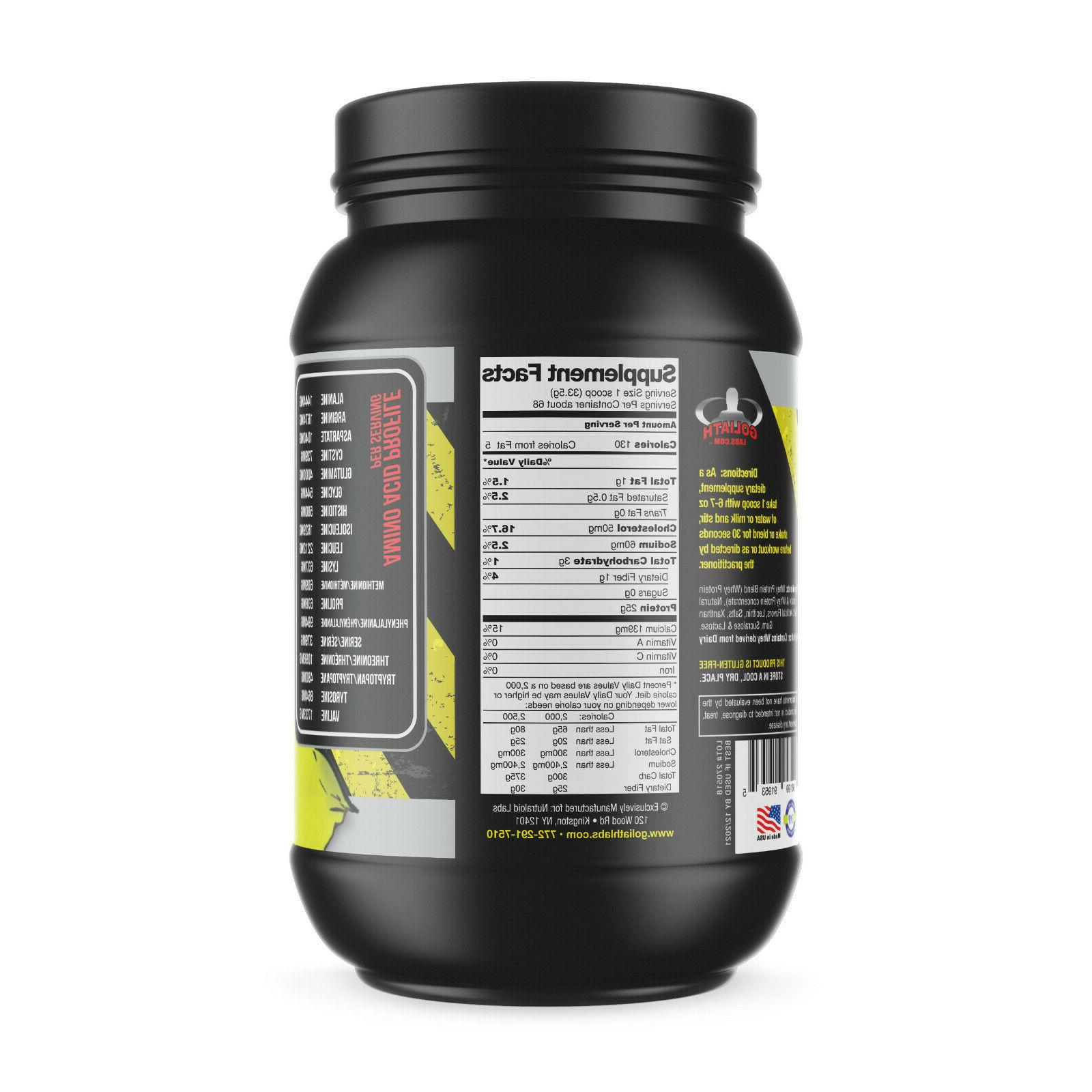 Colossal labs Powder 5lbs Monster Muscle isolate/blend 68