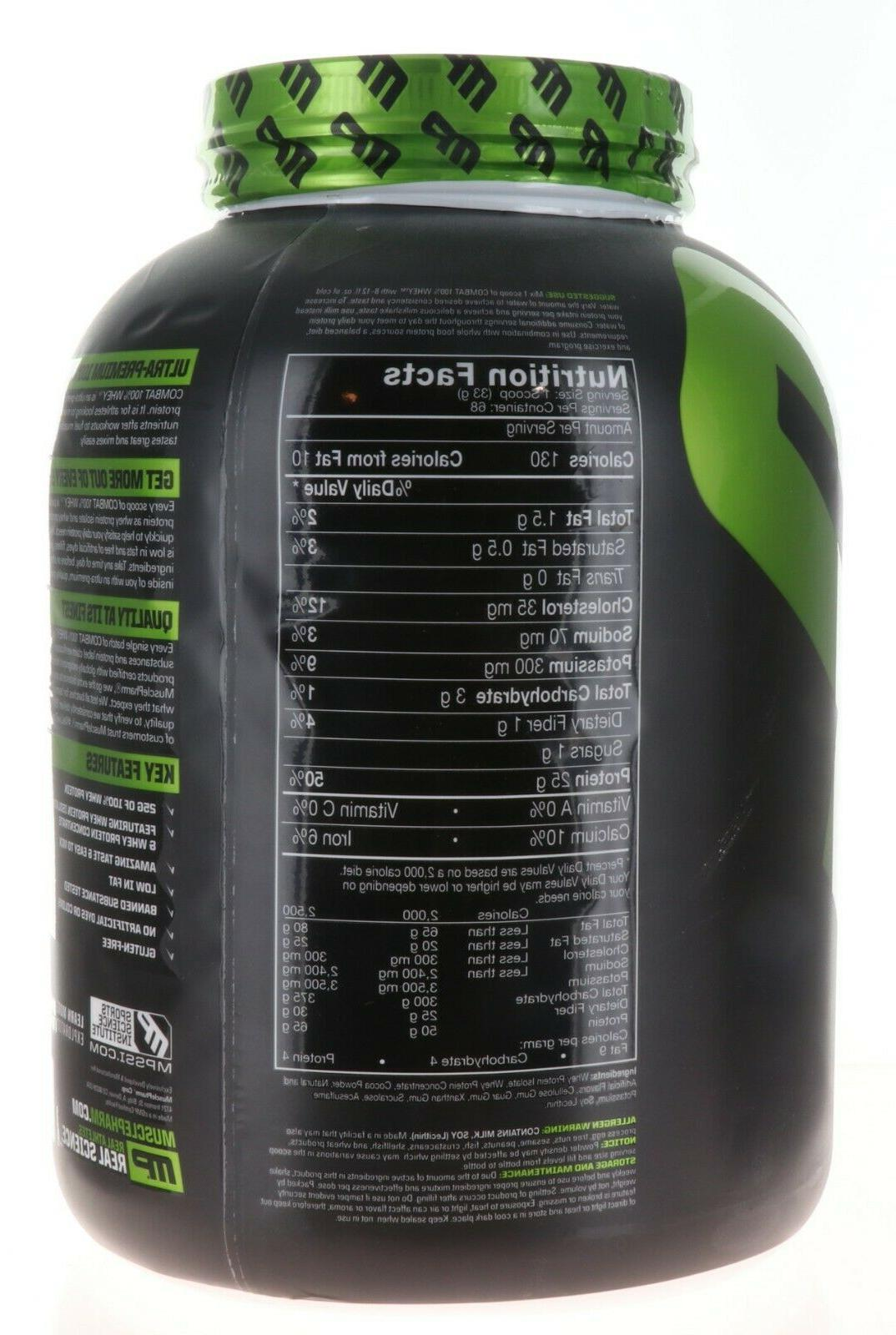 MusclePharm Combat 100% Whey, Muscle-Building Whey 5