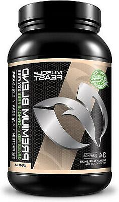 Muscle Feast Grass Fed Premium Blend Whey Protein, Hydrolyze