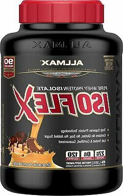 isoflex whey protein isolate peanut butter chocolate