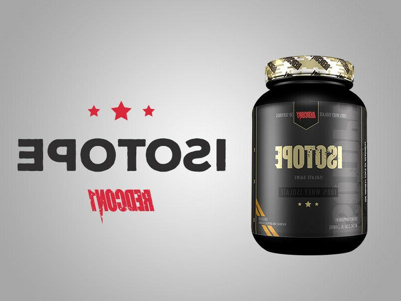 isotope 100 percent premium whey protein isolate