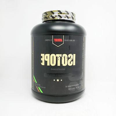 isotope mint chocolate 5 pound whey isolate