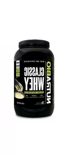 Nutrabio Labs CLASSIC WHEY PROTEIN   2 LB Cake Batter Exp 6/