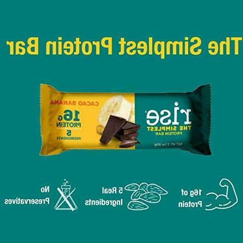 Rise Whey Protein Bars Healthy Protein Count
