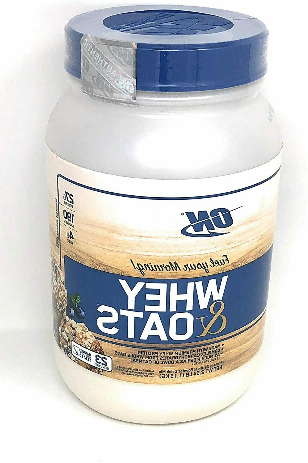 whey and oats protein 2 54 lbs