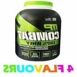 MUSCLEPHARM COMBAT 2kg 5lbs WHEY PROTEIN POWDER MUSCLE PHARM