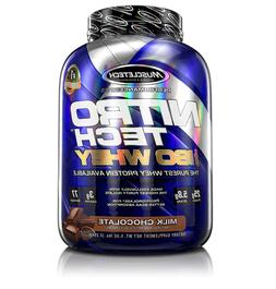 Muscletech Nitro-Tech 100% Iso Whey Protein, Milk Chocolate