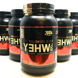 ON Gold Standard Whey 100% Whey Protein 2 lb Optimum Nutriti