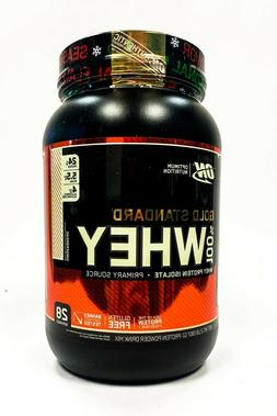 Optimum Gold Standard 100% Whey Protein 2 lbs GINGERBREAD -