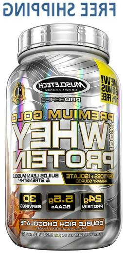 MuscleTech Premium Gold 100% Whey Protein Powder, Ultra Fast