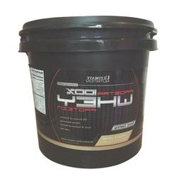 Ultimate Nutrition ProStar Whey Protein - 10 lbs VANILLA CRE