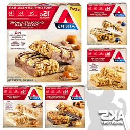 ATKINS PROTEIN BARS Keto Friendly Low Carb Power Meal Replac