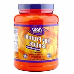 NOW Foods Soy Protein Isolate Non-GMO Unflavored 2lbs  Made