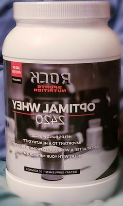 Rock Sports Nutrition Optimal Whey 2420 - 30 Servings, 24G P