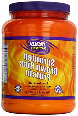 Now Foods Sprouted Brown Rice Protein, 2 Pound