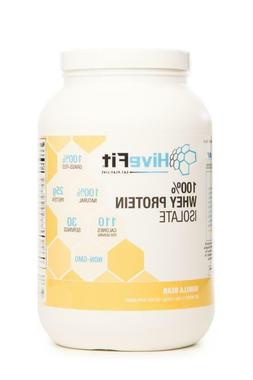 HiveFit Vanilla Bean 100% Whey Protein Isolate Grass Fed All