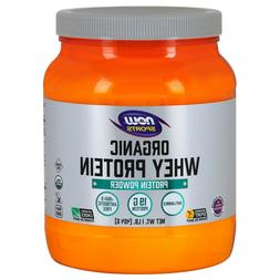 Now Foods Whey Protein Natural Unflavored, Organic - 1 lb. 6
