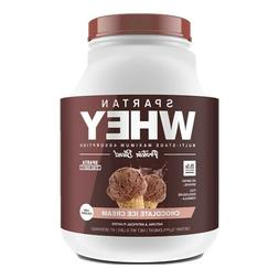 SPARTAN WHEY PROTEIN Multi-Stage- 5 lb 67 Srv Chocolate_best