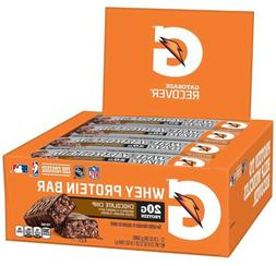 Gatorade Whey Protein Recover Bars, Chocolate Chip, 2.8 ounc